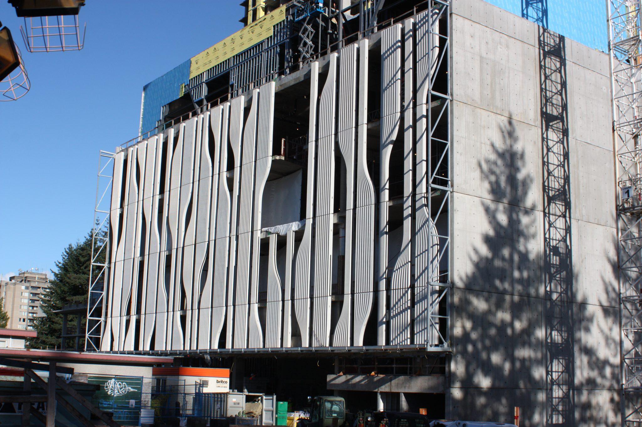Sfu Se3p Precast Concrete Project Surrey Bc Surespan