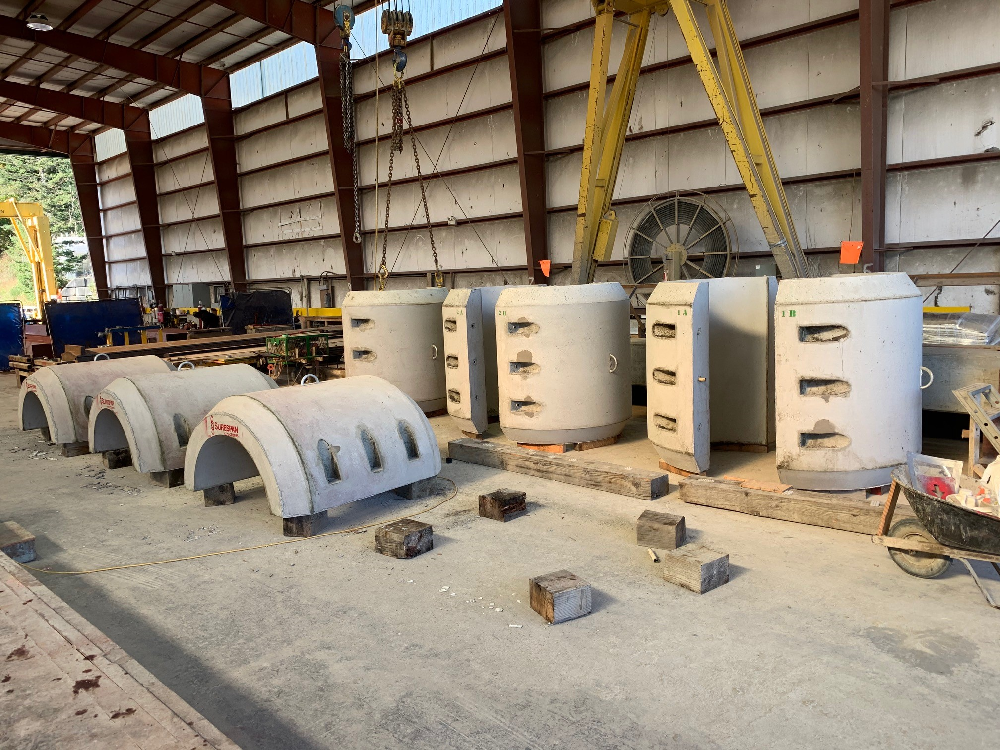 pipeline weight anchor precast concrete